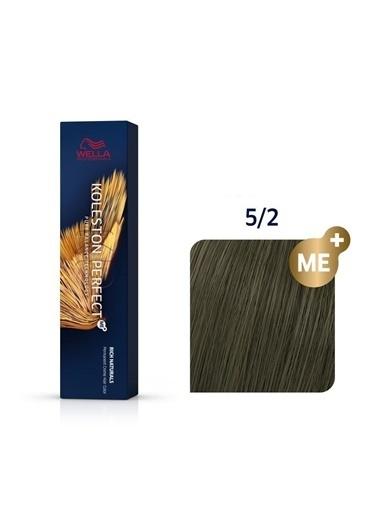 Wella Koleston Perfect Me+ Tüp Boya 60 Ml 5/2 Açık Kahve Mat Renksiz